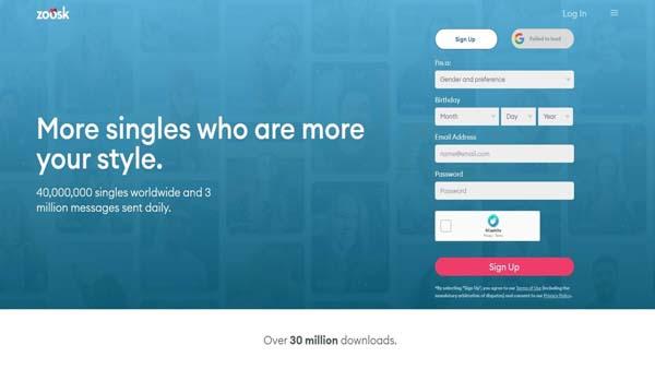 zoosk online dating site